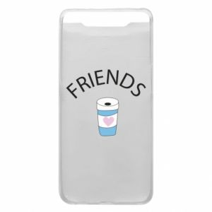 Etui na Samsung A80 Friends coffee