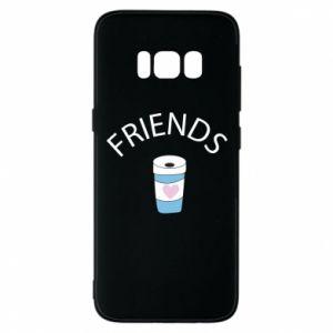 Etui na Samsung S8 Friends coffee