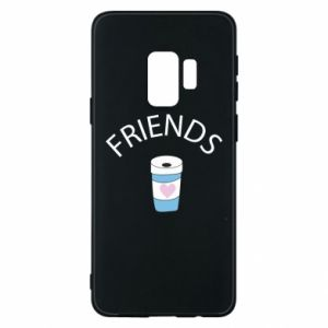 Etui na Samsung S9 Friends coffee