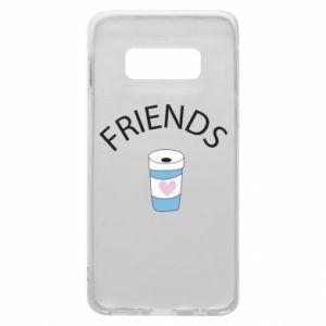 Etui na Samsung S10e Friends coffee