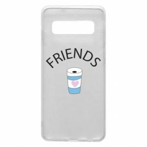 Etui na Samsung S10 Friends coffee