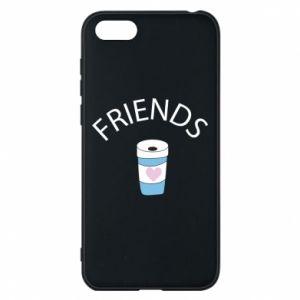 Etui na Huawei Y5 2018 Friends coffee
