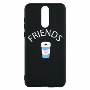 Etui na Huawei Mate 10 Lite Friends coffee