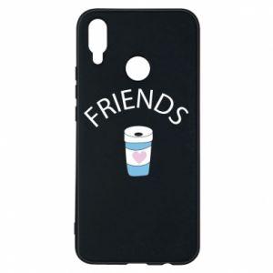 Etui na Huawei P Smart Plus Friends coffee