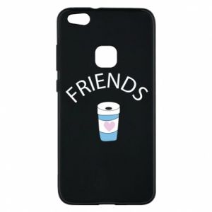 Etui na Huawei P10 Lite Friends coffee