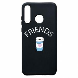 Etui na Huawei P30 Lite Friends coffee