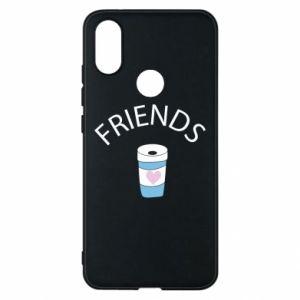 Etui na Xiaomi Mi A2 Friends coffee