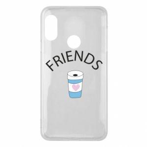 Etui na Mi A2 Lite Friends coffee
