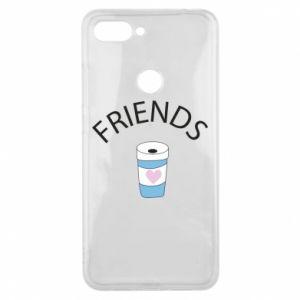 Etui na Xiaomi Mi8 Lite Friends coffee