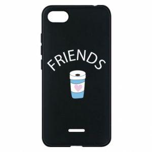 Etui na Xiaomi Redmi 6A Friends coffee