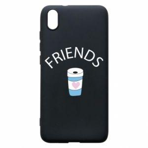 Etui na Xiaomi Redmi 7A Friends coffee