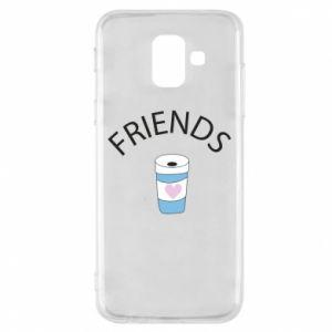 Etui na Samsung A6 2018 Friends coffee