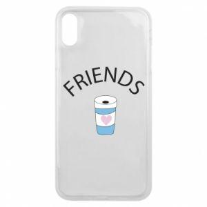 Etui na iPhone Xs Max Friends coffee