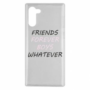 Etui na Samsung Note 10 Friends forever boys whatever