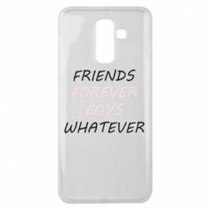 Etui na Samsung J8 2018 Friends forever boys whatever