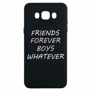 Etui na Samsung J7 2016 Friends forever boys whatever