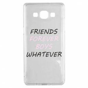 Etui na Samsung A5 2015 Friends forever boys whatever