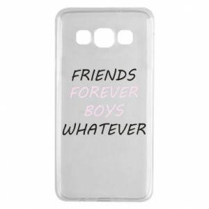 Etui na Samsung A3 2015 Friends forever boys whatever