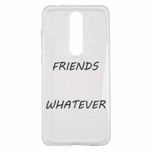Etui na Nokia 5.1 Plus Friends forever boys whatever