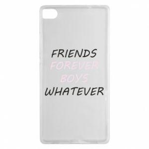 Etui na Huawei P8 Friends forever boys whatever