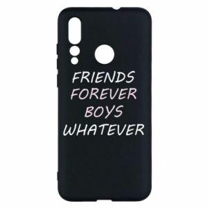 Etui na Huawei Nova 4 Friends forever boys whatever