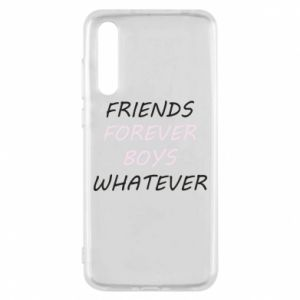 Etui na Huawei P20 Pro Friends forever boys whatever