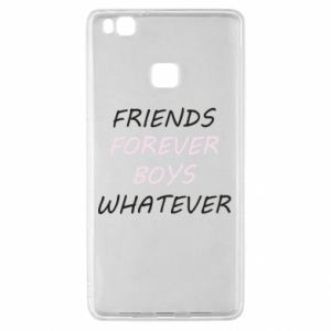 Etui na Huawei P9 Lite Friends forever boys whatever