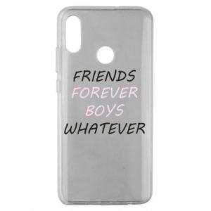 Etui na Huawei Honor 10 Lite Friends forever boys whatever