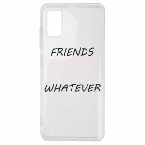 Etui na Samsung A41 Friends forever boys whatever
