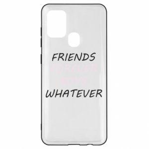 Etui na Samsung A21s Friends forever boys whatever