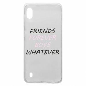 Etui na Samsung A10 Friends forever boys whatever
