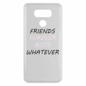 Etui na LG G6 Friends forever boys whatever