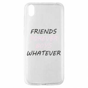 Etui na Huawei Y5 2019 Friends forever boys whatever