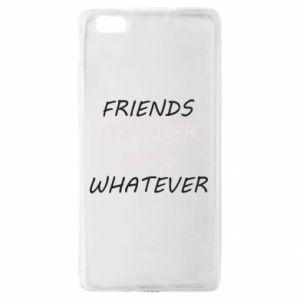 Etui na Huawei P 8 Lite Friends forever boys whatever