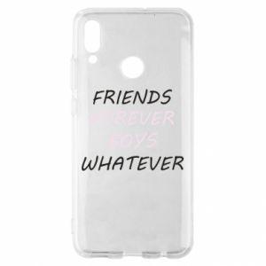 Etui na Huawei P Smart 2019 Friends forever boys whatever