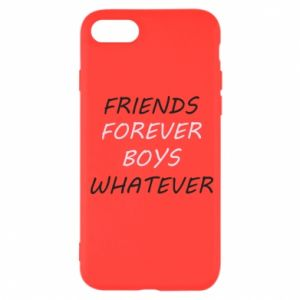 Etui na iPhone SE 2020 Friends forever boys whatever