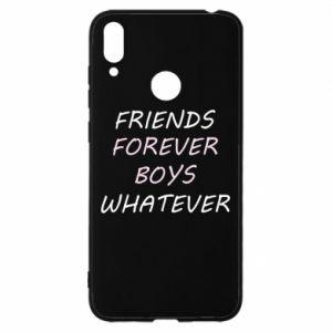 Etui na Huawei Y7 2019 Friends forever boys whatever