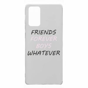 Etui na Samsung Note 20 Friends forever boys whatever