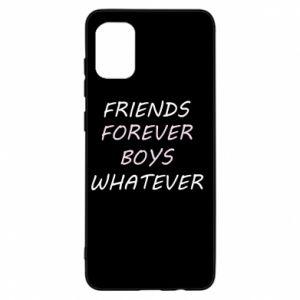 Etui na Samsung A31 Friends forever boys whatever