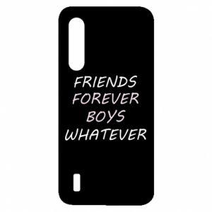 Etui na Xiaomi Mi9 Lite Friends forever boys whatever