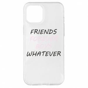 Etui na iPhone 12 Pro Max Friends forever boys whatever