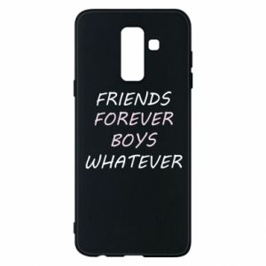 Phone case for Samsung A6+ 2018 Friends forever boys whatever