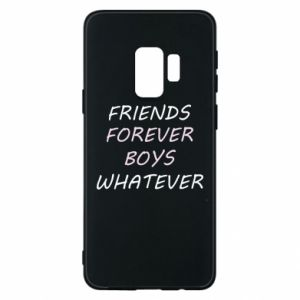 Etui na Samsung S9 Friends forever boys whatever
