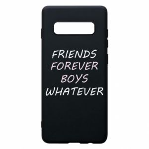 Etui na Samsung S10+ Friends forever boys whatever