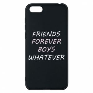 Phone case for Huawei Y5 2018 Friends forever boys whatever