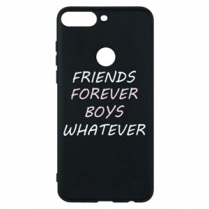 Phone case for Huawei Y7 Prime 2018 Friends forever boys whatever