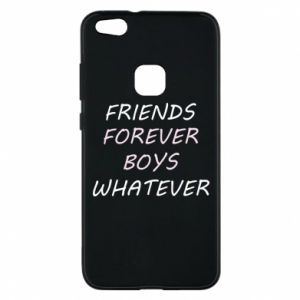 Phone case for Huawei P10 Lite Friends forever boys whatever