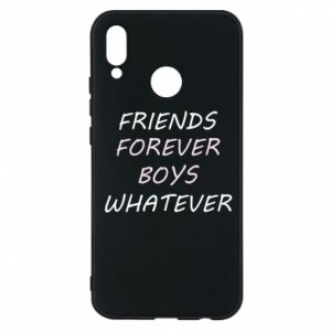 Phone case for Huawei P20 Lite Friends forever boys whatever