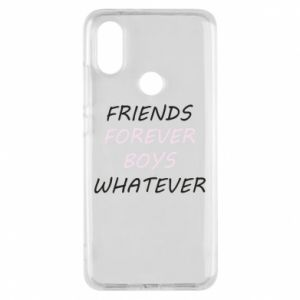 Phone case for Xiaomi Mi A2 Friends forever boys whatever