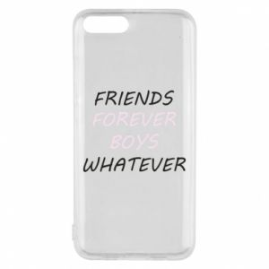 Phone case for Xiaomi Mi6 Friends forever boys whatever